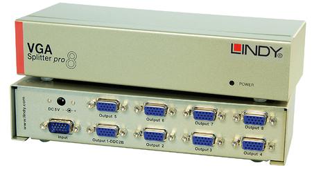 VGA Splitter Pro, 8 Porte