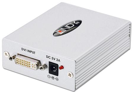 Converter DVI / VGA e Video Component