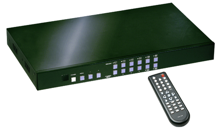 Scaler Quad HDMI PIP - 4:1 Seamless