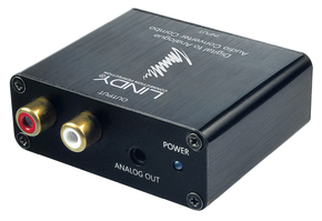 Convertitore Audio TosLink & Coassiale a Stereo analogico 192kHz