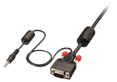 Cavo VGA & Audio Premium M/M, 1m