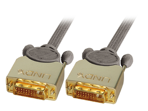 Cavo DVI-D Dual Link GOLD M/M 0.5m