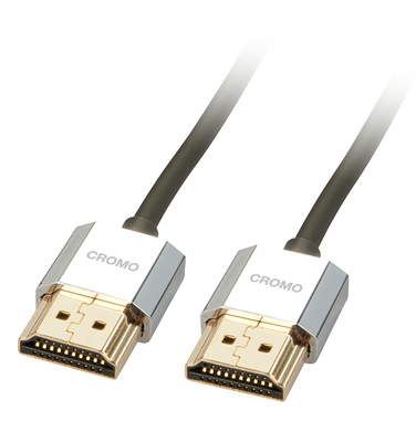 Cavo Slim HDMI High Speed A/A CROMO, 2m