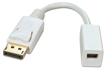 Cavo Adattatore Mini DisplayPort Femmina a DisplayPort Maschio