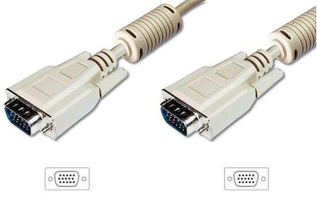 Cavo VGA HD antidisturbo M/M, 3m
