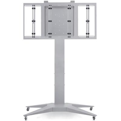 """Supporto per monitor, modello """"Totem XL"""", grigio, oltre 65"""""""