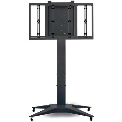 """Supporto per monitor, modello """"Totem XL"""", nero, oltre 65"""""""