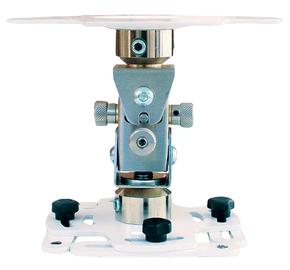 """Supporto professionale per videoproiettore """"Arakno-mini"""" con regolazione micrometrica 15cm (bianco)"""