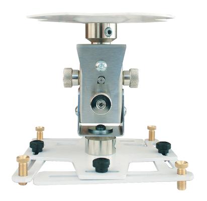"""Supporto professionale per videoproiettore """"Arakno"""" con regolazione micrometrica 18cm (bianco)"""