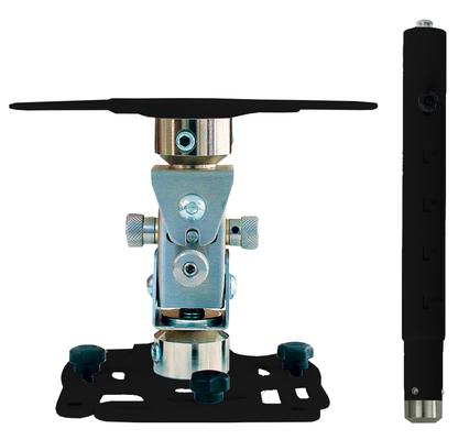 """Supporto professionale per videoproiettore """"Arakno-mini"""" con regolazione micrometrica 128/193cm (nero)"""