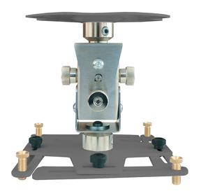 """Supporto professionale per videoproiettore """"Arakno"""" con regolazione micrometrica 18cm (silver)"""