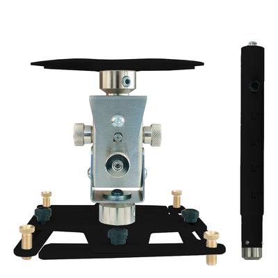 """Supporto professionale per videoproiettore """"Arakno"""" con regolazione micrometrica 86/126cm (nero)"""