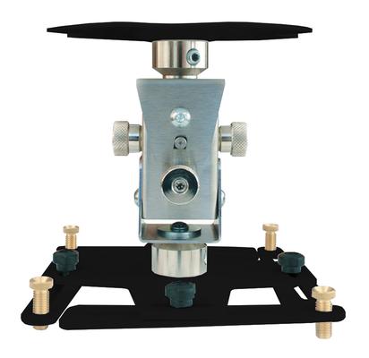 """Supporto professionale per videoproiettore """"Arakno-maxi"""" con regolazione micrometrica 20cm (nero)"""