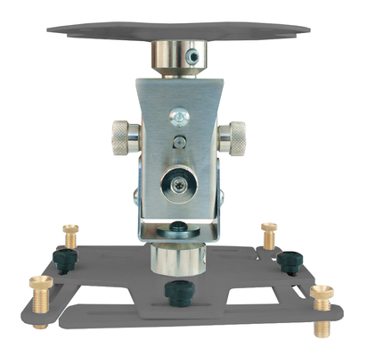 """Supporto professionale per videoproiettore """"Arakno-maxi"""" con regolazione micrometrica 20cm (silver)"""