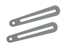 """Braccetto di estensione per staffe della linea """"Arakno"""" lungo 17cm (silver)"""