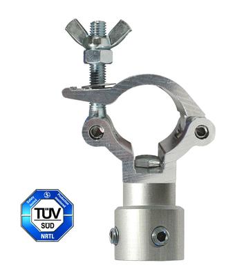 Kit per fissaggio su traliccio truss da 5cm (clamp + adattatore)