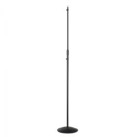 "Asta microfonica ""Stylus"" con base tonda in lamiera Ø250mm"