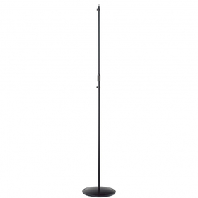 "Asta microfonica ""Stylus"" con base tonda in lamiera Ø270mm"