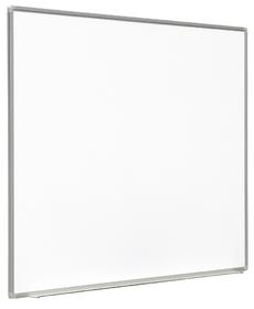 """Lavagna magnetica """"Decor"""" in acciaio smaltato bianco per scrittura e proiezione interattiva 160x120 cm 77"""" 4:3"""