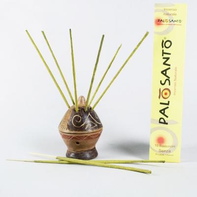 10  Bastoncini Incenso Naturale Palo Santo