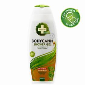 Gel doccia con D-pantenolo a base di Olio di canapa, aiuta a prendersi cura del corpo grazie all'alto contenuto di acidi grassi insaturi, determinanti per la cura della pelle del corpo.
