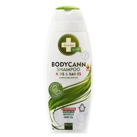 Shampoo naturale alla canapa per bimbi e bambiniQuesto Shampoo è stato appositamente realizzato per prendersi cura delle pelli più sensibili, mantenendo i capelli soffici e idratando dolcemente la cute.
