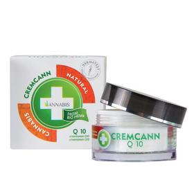 La crema rigenerante a base di canapa e coenzima Q10 per la cura giornaliera della pelle.
