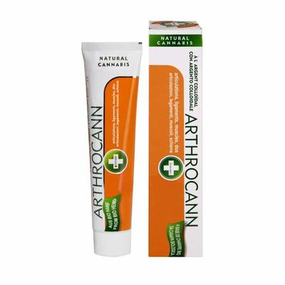 Arthrocann è un efficace gel a base di canapa e argento colloidale, arricchito con importanti acidi grassi quali gli Omega 3-6, per combattere l'artrosi.