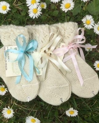 baby alpacadisponibile con fiocco:biancorosaazzurro