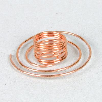 Base Porta Paletto Spirale Rame