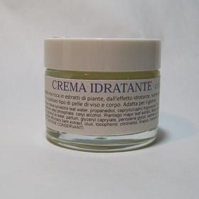 Crema idratante, con il 30% di estratti di Malva e PiantaggineCrema leggera da giorno, per pelli normali o sensibili.