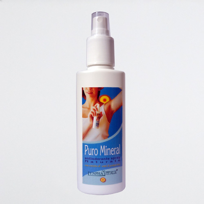Kit 3 pezzi Puro Mineral Deodorante Naturale Spray