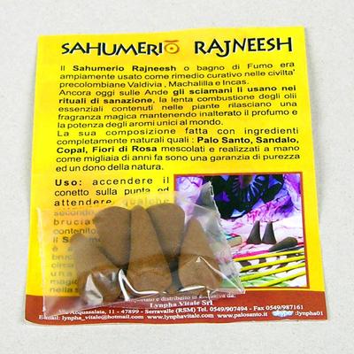Sahumerios Rajneesh 5 Incenso Coni Tradizionali