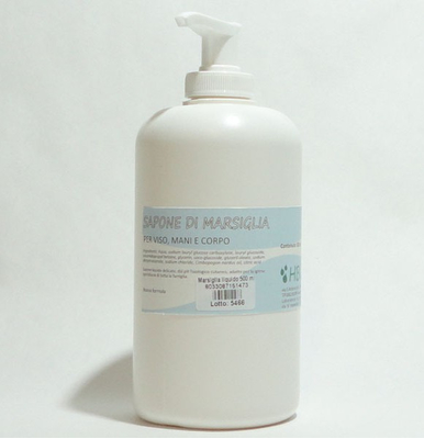 Sapone liquido delicato, dal pH fisiologico cutaneo,adatto per l'igiene quotidiana di tutta la famiglia;per viso, mani e corpo.
