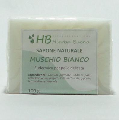 Saponetta al muschio bianco – 100 g