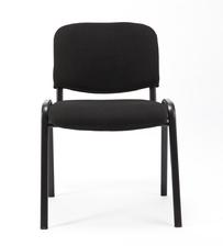 Sedie Conferenza - sedie attesa Impilabili tessuto nero
