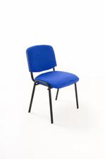 Sedie per ufficio Imbottite in tessuto blu