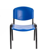Sedia per sala d'attesa in Plastica BLU