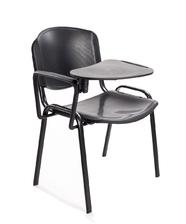 Sedie riunione conferenza +scrittoio plastica nera