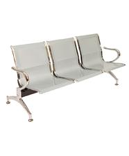 Sedie da attesa in acciaio – NUOVE – 3 posti