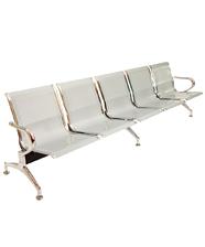 Sedie da attesa in acciaio – NUOVE – 5 posti