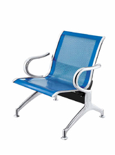 Panca da attesa in acciaio colore blu 1 posto