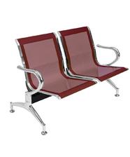 Sedie da attesa in acciaio colore rosso 2 posti