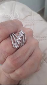 Anello argento