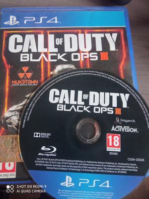 Tris giochi PS4