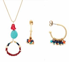 Set collana + orecchini