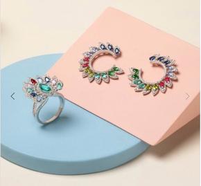 Set anello e orecchini