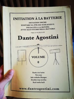 Libro Dante agostini volume 0 per batteria