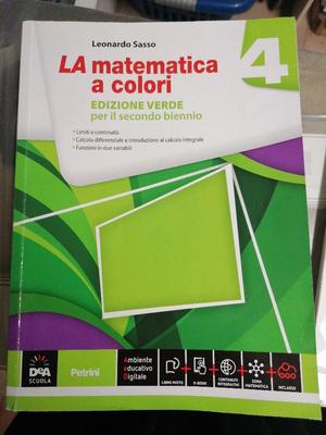 La matematica a colori 4