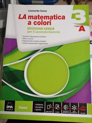 La matematica a colori 3